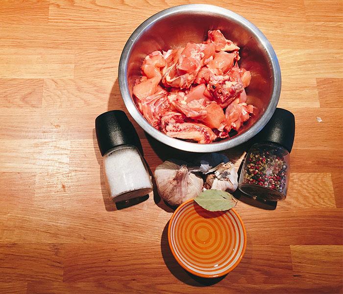 ingredientes pollo al ajillo receta de la abuela
