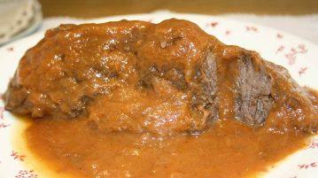 Carrilleras de ternera en su salsa