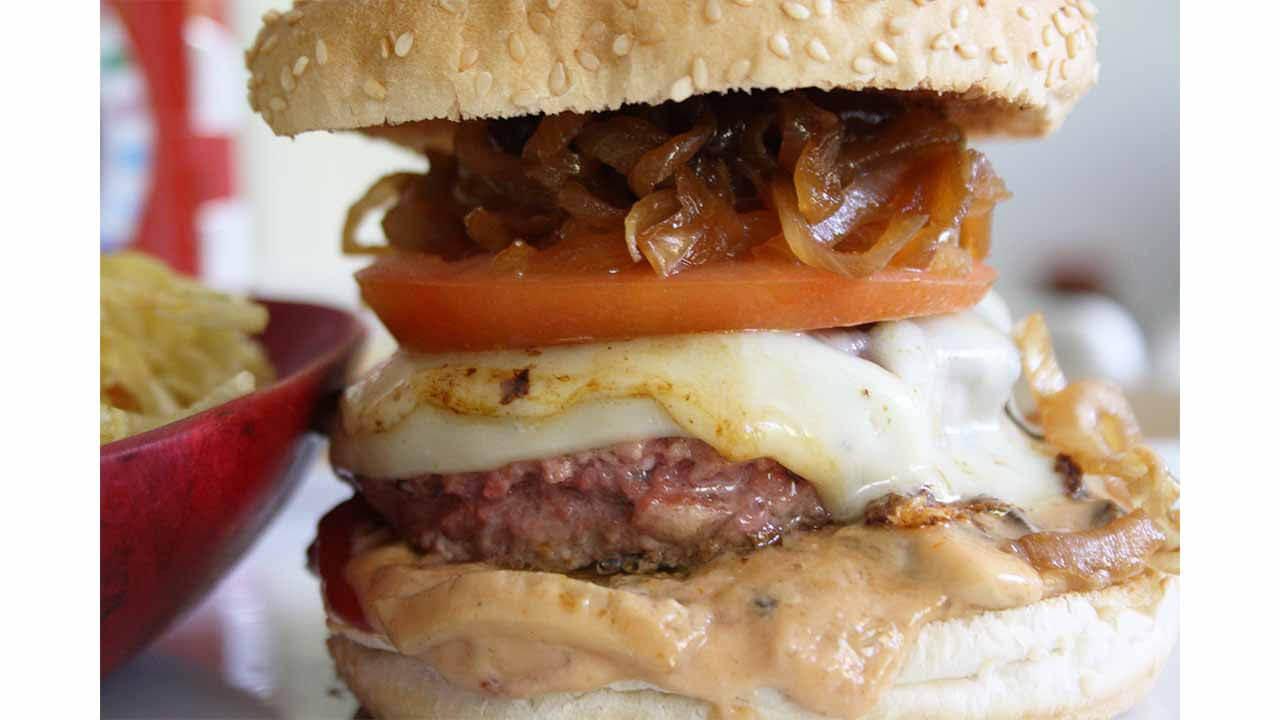 Cómo hacer una hamburguesa de ternera perfecta