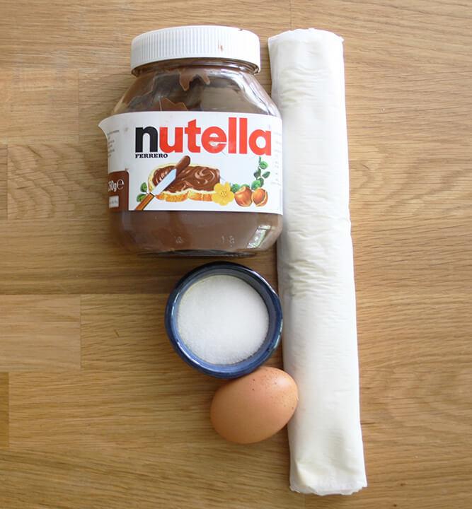 ingredientes trenza de chocolate