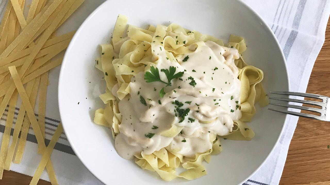pasta con salsa especial