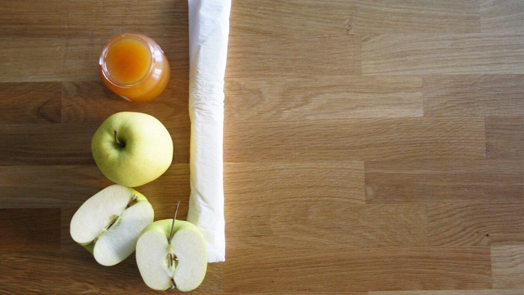 ingredientes tarta de manzana
