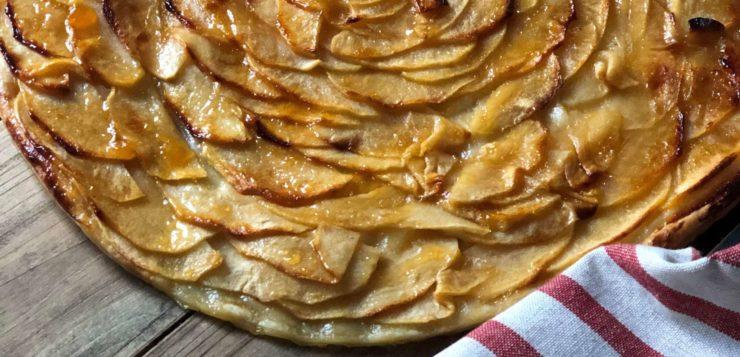 Cómo hacer tarta de manzana con hojaldre