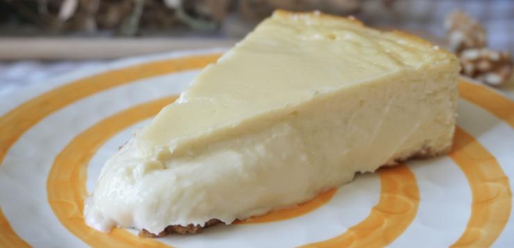 Tarta de queso gorgonzola e idiazabal