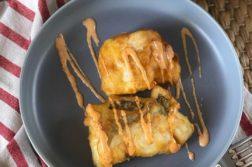 Merluza en tempura